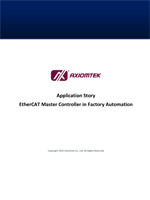 EtherCAT Master Controller in Factory Automation