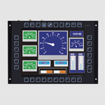 GOT710-837 Railway Fanless Touch Panel PC