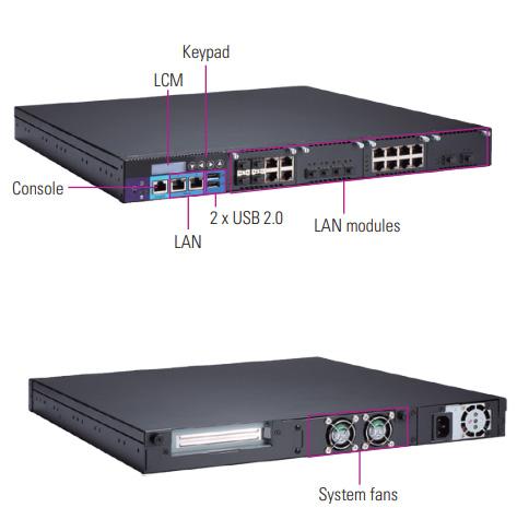 NA591 1U Rackmount Network Appliance Platform
